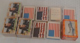 Large Lot Topps Pacific Desert Storm Card Sets Stickers Lot Shield