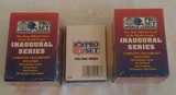 NFL Football Factory Sealed Set Lot Final Update Pro Set World League