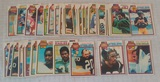 48 Vintage 1979 NFL Football Card Lot w/ Stars Bradshaw Tarkenton
