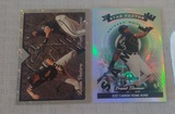 2 Frank Thomas Baseball Card Insert Pair White Sox Sample Refractor HOF