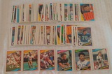 130+ Vintage 1984 Topps NFL Football Card Lot Stars Elway (Crease) Long Dickerson Rookie RC Lot