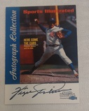 1999 Fleer Sports Illustrated Autographed Insert Fergie Jenkins Cubs HOF