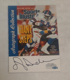 1999 Fleer Sports Illustrated Autographed Insert NFL Giants Otis Anderson Auto