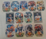 1997 Leaf 13 Card Lot Inserts Proof Terrell Davis Harrison Carter Collins Carter Brunell