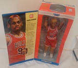 1997 Kenner Starting Lineup Large Doll Figure 12'' Dennis Rodman Bulls NBA MIB Poseable