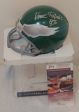 Vince Papale Autographed Signed Mini NFL Eagles Riddell Helmet JSA COA Invincible Throwback