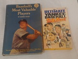 2 Vintage Yankees Baseball Book Lot MVP Mickey Mantle Cover Ultimate Yankee
