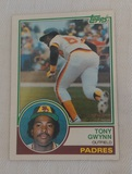 1983 Topps Baseball #482 Tony Gwynn Rookie Card RC Padres HOF