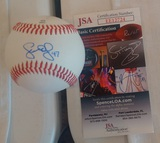 Scott Eyre Autographed Signed Baseball Phillies JSA COA Official Eastern League Rawlings
