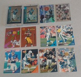 12 NFL Football Insert Card Lot Numbered Sealed Game Ball Refractor