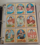 Vintage 1970 Topps NFL Football Card Album 360 Cards Stars