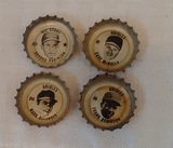Vintage 1967 1968 Coke Baseball Metal Cap Lot Tab Frank Brooks Robinson Belanger McNally MLB
