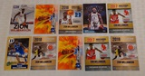10 Pre NBA Basketball Card Lot Zion Williamson Duke Pelicans