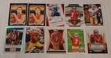 Colin Kaepernick 10 Card NFL Football Lot 49ers w/ Rookie Cards RC