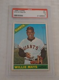 Vintage 1966 Topps #1 Willie Mays Baseball Card PSA GRADED 3 Giants HOF
