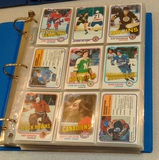 Vintage 1981-82 Topps NHL Hockey Card Album Lot 462 Cards Stars