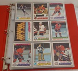 Vintage 1977-78 Topps NHL Hockey 150 Card Album