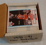 1990-91 Fleer NBA Basketball Complete Card Set Stars Rookies HOFers