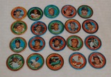 Vintage 1971 Topps MLB Baseball Coin Lot 20 Coins