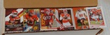 Approx 800 Box Full All Kansas City Chiefs NFL Football Cards w/ Stars Mahomes Kelce Hill