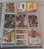 NBA Basketball Card Album 450 Cards Rookies Stars HOFers Loaded Jordan Kobe LeBron Vintage