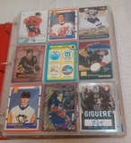 NHL Hockey Card Album 450 Cards Rookies Stars HOFers Loaded Vintage & Modern