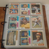 Vintage 1974 Topps Baseball Card Lot Approx 357 Cards Stars HOFers Album