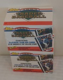 (2) 1993 Topps Traded Factory Sealed Baseball Card Sets Rookies Stars