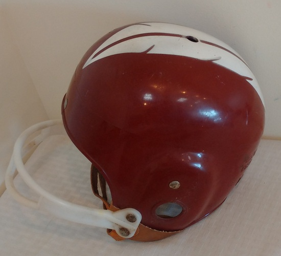 Vintage 1950s 1960s NFL Football Washington Redskins Throwback Helmet FullSize Medium MacGregor E69G