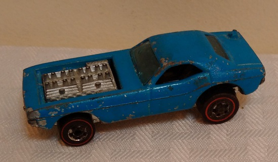 Vintage Hot Wheels Red Line Die Cast Car 1970 Show Off Baby Blue 100% Original UnRestored Rare