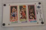 Vintage 1980-81 Topps NBA Basketball Panel Magic Johnson Erving Breda Kolff Rookie RC GRADED Gem 10