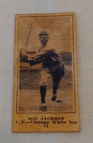 Vintage 1916 Sporting News Shoeless Joe Jackson Card Old Early Reprint? White Sox Baseball