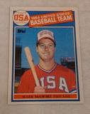 Vintage 1985 Topps Baseball #401 Mark McGwire Rookie RC A's Cardinals Team USA Olympics