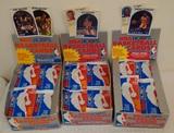 1989-90 NBA Hoops Basketball Wax Box Lot 2 1/2 Full 90 Unopened Packs Jordan Robinson