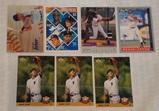 7 Derek Jeter Yankees Baseball Rookie Card Lot RC HOF Topps Upper Deck