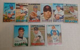 9 Vintage 1967 Topps MLB Baseball Card Lot w/ Ford McCovey Sutton