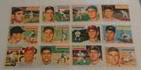 12 Vintage 1956 Topps Baseball Card Lot Orioles Dusty Rhodes