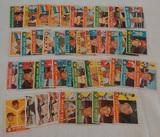 43 Vintage 1960 Topps MLB Baseball Card Lot w/ Stars Fox Klu Sparky Anderson Rookies RC