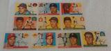 10 Vintage 1955 Topps MLB Baseball Card Lot