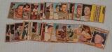 35 Vintage 1962 Topps Baseball Card Lot w/ Boog Ford