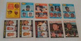 10 Vintage 1960s Topps Baseball Leader Card Lot Clemente Aaron Mays Williams Cepeda Drysdale Gibson