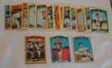 18 Vintage 1972 Topps Baseball Card Lot Gibson Killebrew Munson