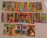 68 Vintage 1975 Topps Baseball Card Lot w/ Stars HOFers
