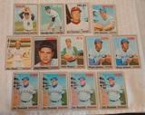13 Vintage 1970 Topps Baseball Card Lot Stars HOFers