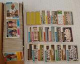 456 Huge Lot Vintage 1974 Topps Baseball Card Lot Teams Traded
