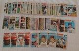 88 Vintage 1977 Topps MLB Baseball Card Lot Many Stars Teams