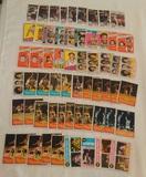 Vintage 1970s Topps NBA Basketball Card Lot Stars HOFers