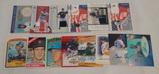 MLB Baseball Game Used Relic Insert Autographed Lot Vintage Topps Bernie Matt Williams