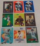 12 MLB Baseball NFL football Non Sport Acetate Clear Insert Card Lot Gwynn Elway Bettis Harrison