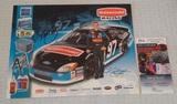 Kurt Busch Autographed Signed Hero Card NASCAR JSA